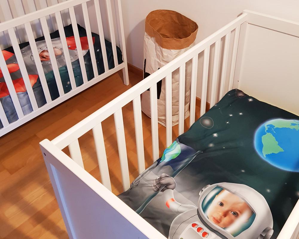 Foto Bettwäsche Für Babybett Regal Prix