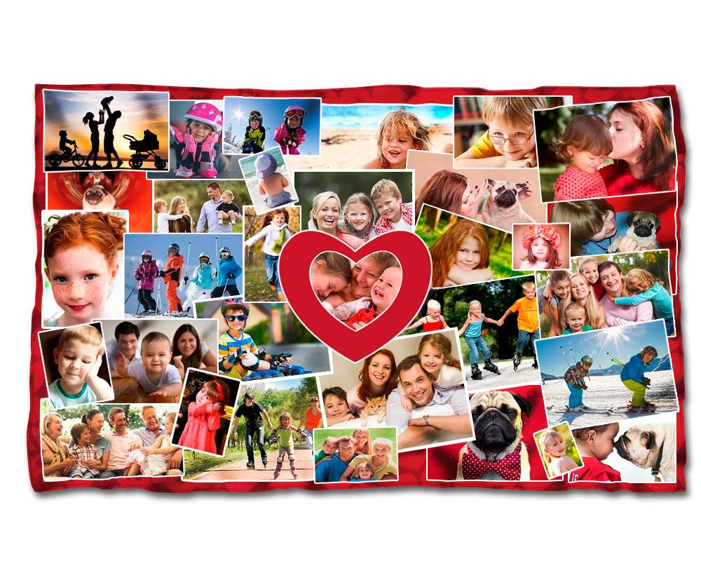 Fotodecke personalisierte decken decken mit ihren - Mantas con fotos ...