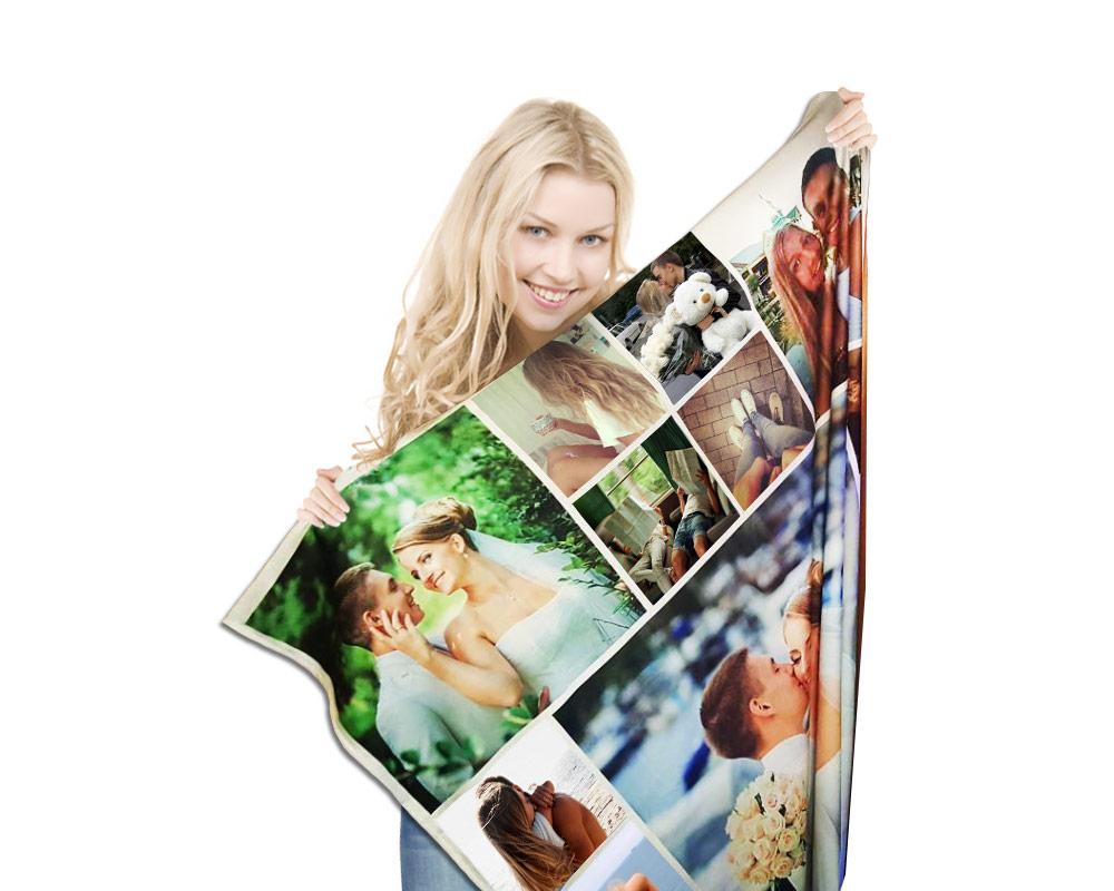 Fotodecke personalisierte decken decken mit ihren fotos regal prix - Fotogeschenke decke ...