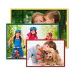 Fotopuzzle mit Puzzle-Rahmen