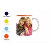 Farbige Foto-Tasse
