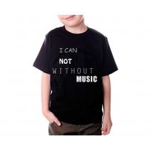 Personalisiertes farbiges T-Shirt für Kinder