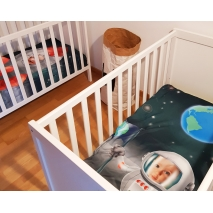 Personalisierte Bettwäsche - Babybett