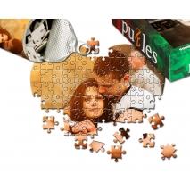 Herzpuzzle mit Foto