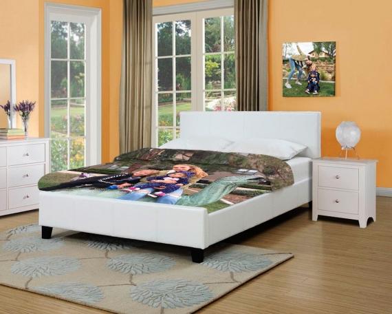 Personalisierte Bettwäsche - Doppelbett