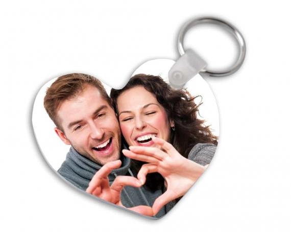 Kunststoff Schlüsselanhänger mit Foto