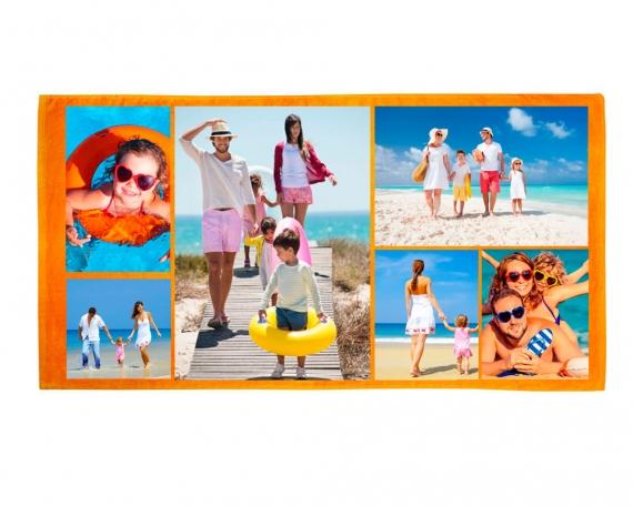 Strandtuch mit foto